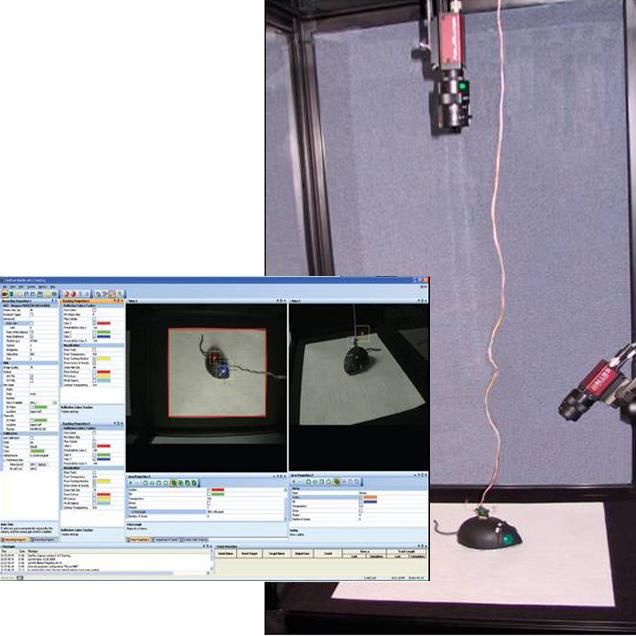 CinePlex视频记录和行为学轨迹分析系统