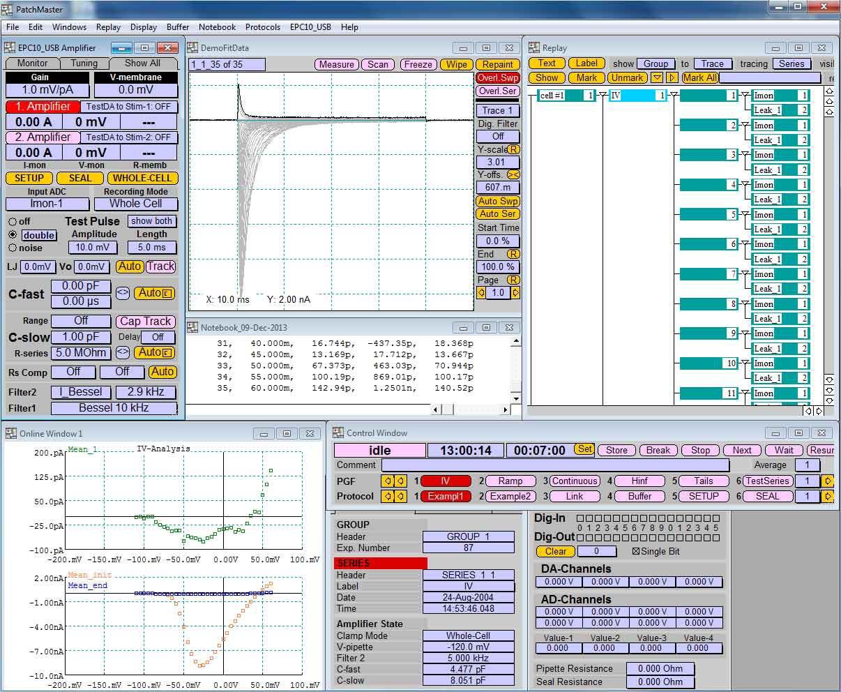 PATCHMASTER电生理采集软件