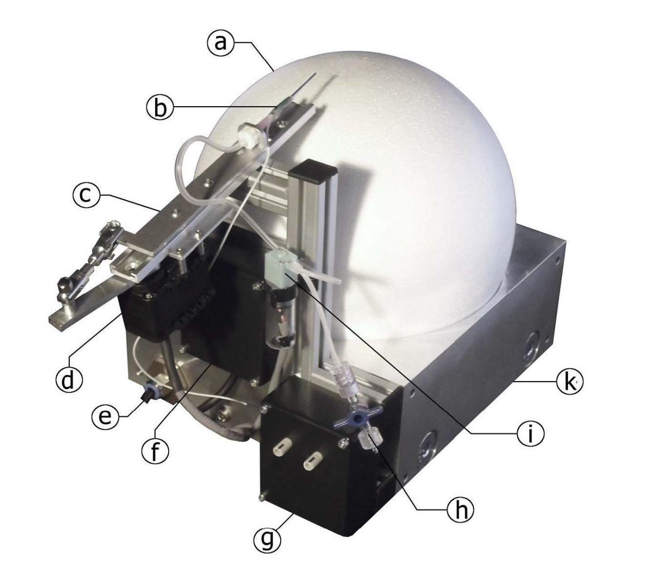 气流悬浮球系统